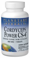 Planetary Herbals Cordyceps Power CS-4 recognized as a premier tonifier for athletes and anyone wanting to support energy and endurance. Planetary Herbals Cordyceps Power CS-4.