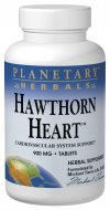 Planetary Herbals Hawthorn Heart combines precious botanicals from Europe, North America and Asia to support cardiovascular health..