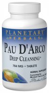 Planetary Herbals Pau d'Arco Deep Cleansing is a combination of powerful cleansers from three cultures..