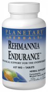 Planetary Herbals Rehmannia Endurance is based on the classic Chinese tonifier Rehmannia Six: Liu Wei Di Huang Wan, one of the most strengthening tonics of Chinese herbalism. Traditionally, it was used for those who are tired and run down from overwork and inadequate rest due to a fast-paced lifestyle..