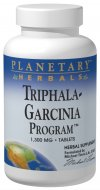 Planetary Herbals Triphala-Garcinia Program combines the legendary Triphala blend and Garcinia cambogia extract of Ayurvedic herbalism with selected Western and Chinese herbs designed to assist the body's normal digestive, assimilative and eliminative processes. The addition of other key nutrients complete this comprehensive addition to your wellness and exercise program..