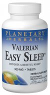 Easy Sleep formula unites valerian, with equally legendary calmatives hops and chamomile, as well as other selected European and Chinese botanicals..
