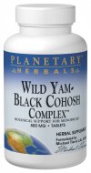 Planetary Herbals combines well known and respected botanicals for supporting women through the hormonal transitions of menopause.Wild Yam-Black Cohosh Complex is a rich source of phytoestrogens..