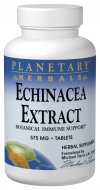 Echinacea is one of North America's most celebrated and relied-upon botanicals for supporting the immune system. Planetary Herbals formulator Michael Tierra was largely responsible for bringing this valued botanical back into Western herbal practice after 35 years of disuse. Planetary Herbals Echinacea Extract combines a concentrated whole root extract with additional whole root powder to capture all of echinacea's valuable constituents and deliver it in a manner that is easily assimilated..