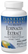 Echinacea is the most relied upon botanical in North America for supporting immune functions. Planetary Herbals Full Spectrum Echinacea Extract combines a concentrated Echinacea angustifolia root extract (standardized to 4% echinacosides) with the roots of Echinacea pallida. This captures the full spectrum of echinacea compounds..