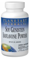 Planetary Herbals Soy Genistein Isoflavone Powder is rich in isoflavones. Epidemiological research in Asia shows that a diet rich in soy provides significant health-supporting benefits, especially for women..