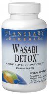 The root of the herb Wasabia japonica, a potent member of the Cruciferae family, has powerful properties that can help detoxify the liver. Wasabi induces Phase II detoxification, which removes toxic substances that are stored in the liver's fatty tissues..