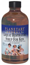 Planetary Herbals Loquat Respiratory Syrup for Kids is a gentle, soothing herbal formula for respiratory health with a wild cherry flavor kids like. It combines loquat leaves with other key botanicals including the inner barks of slippery elm and wild cherry, two plants long used by traditional western herbalists for supporting respiratory health..