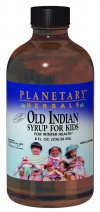 Old Indian Syrup For Kids combines potent botanicals from North American and Chinese herbal traditions for this comprehensive seasonal health supplement. This formula supports immune system response, easy breathing, healthy respiratory function and clear sinuses. It has a delicious natural cherry flavor kids like..