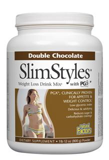 Natural Factors Slim Styles Weight Loss Drink Mix is clinically proven to support weight loss through appetite control and glucose balance. By balancing glucose levels, SlimStyles significantly reduces food cravings making weight loss a more achievable goal..