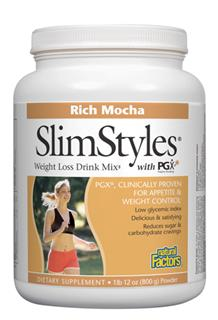 Natural Factors SlimStyles Weight Loss Drink Mix is designed to promote weight loss through appetite control and blood glucose balance.. It supports the body systems with a host of high quality nutrients..