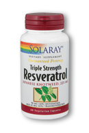 Triple Strength Resveratrol is a potent antioxidant that is well suited to provide nutritive support for cardiovascular health..