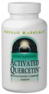 Activated Quercetin is a unique bioflavonoid derived from plant sources.  In human cell culture studies, quercetin has been shown to inhibit histamine release.  .