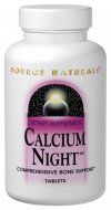 Calcium Night is a technologically advanced formula, providing optimal forms of calcium and key co-nutrients to help support a healthy skeletal system. CALCIUM NIGHT also contains a 1:1 ratio of calcium and magnesium, along with other minerals such as copper and manganese to provide support for bones..