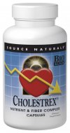 Source Naturals Cholestrex is part of the Cholesterol Rescue family of products. Preliminary scientific evidence suggests that certain fibers, niacin, beta-sitosterol and other nutrients may help to support cholesterol wellness when consumed as part of a low cholesterol and low fat dietary program..