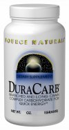 DuraCarb is an excellant energy drink for athletes and exercise enthusiasts, containing both long and branched chain carbohydrates.  Duracarb contains a higher percentage of long and branched chain carbohydrates than many other 'carbo-drinks.'  Duracarb gives you quick, consistent energy when you need it, with no unneccessary fat, protein, or fiber.  .