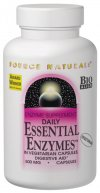 Essential Enzymes is a Bio-Aligned Formula, designed to ensure that you absorb the full nutritional value of your food. Essential Enzymes supports your body's systems for digestion of multiple food groups: carbohydrates, protein, fat and fiber. Each capsule contains 500 mg of an all-vegetarian, broad-spectrum blend of digestive enzymes..
