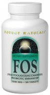 Source Naturals FOS is a complex of fructooligosaccharides (FOS) - a group of naturally occurring carbohydrates that can help promote the growth of beneficial flora in the gastrointestinal tract. .