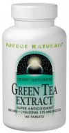 Source Naturals Green Tea Extract offers a convenient way to get the benefits of green tea in a highly concentrated form. The extract is standardized for bioflavonoid-like antioxidants known as polyphenols, particularly (-)-Epigallocatechin Gallate (EGCG). EGCG has been found in scientific studies to be a potent antioxidant..