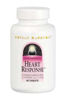 Heart Response combines hawthorn, L-carnitine, and CoQ10 with other herbs, vitamins, amino acids, antioxidants, and minerals to support cardiovascular function. Research suggests that hawthorn has the ability to increase the strength of contraction of the heart and to increase coronary blood flow. Carnitine and CoQ10 both play a role in energy generation, which is necessary for the continuous work performed by the heart muscle..