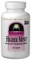 Higher Mind addresses the multiple interdependent body systems necessary for healthy brain function: neurotransmitter production cell membrane stability energy generation antioxidant defense and myelin sheath generation. This Bio-Aligned Formula features phosphatidyl serine a phospholipid that is an essential component of nerve cell membranes. These membranes conduct electrical impulses that promote communication between nerve cells contributing to healthy cognitive function..