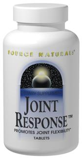 Source Naturals Joint Response provides three of the most important building blocks for joints and connective tissues: MSM (dietary sulfur), glucosamine, and vitamin C. These nutrients help to lubricate and ease joint movement. Molybdenum is added to this formula to aid in preventing molybdenum loss in the body due to increased organic sulfur intake..