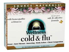 Multi-System Relief for Cold & Flu Symptoms. Wellness Cold & Flu is a Bio-Aligned Formula using specific homeopathic remedies that address multiple body systems and symptoms of colds & flu..