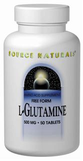 L-Glutamine, a free-form amino acid, can be converted to glutamic acid.  Glutamic acid is a precursor to the important inhibitory neurotransmitter GABA (gamma-aminobutyric acid).   L-Glutamine also plays an important role in ammonia disposal..