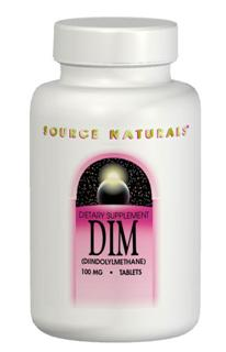 DIM has been shown to lead to the beneficial formation of estrogen metabolites that are associated with healthy breast, endometrial, and cervical tissues. Source Naturals DIM is combined with phospholipids, vitamin E and bioperine for enhanced absorption..