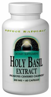 Holy basil (known as tulsi in Ayurveda) is one of the primary botanicals used in India for reducing the negative effects of stress by lowering cortisol production in the adrenals. In vitro research shows the ursolic acid in holy basil inhibits COX-2, an inflammatory enzyme. As a powerful adaptogen, it helps maintain normal blood sugar levels when used as part of your diet, as well as promote focused clarity..