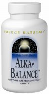 Source Naturals Alka-Balance is specifically designed to aid the body in maintaining alkalinity. Alka-Balance contains coral calcium, alkaline mineral citrates as well as a proprietary blend of herbs and green food powders that are included to round out the overall health benefits of this product..