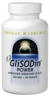 GliSODin POWER is an innovative bioavailable form of superoxide dismutase (SOD), the most important enzyme in the body for protecting the body's cells and tissues from free radical damage. Scientific research shows that GliSODin supports the body's own production of superoxide dismutase. GliSODin POWER is 100% vegetarian and is comprised of gliadin, a wheat protein extract, which is bound to superoxide dismutase derived from cantaloupe. The gliadin protects the SOD from degradation in the digestive tract and also promotes its absorption..