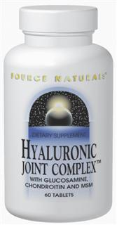 Hyaluronic Joint Complex is a comprehensive formula that combines hyaluronic acid with glucosamine, chondroitin, MSM, and manganese ascorbate. These ingredients are important building blocks for healthy joints and connective tissues. Hyaluronic acid is a major component of joint tissue. It helps to hold lubricating moisture in joints and cartilage, which affects their resilience, elasticity, and strength. BioCell Collagen II is a patented hyaluronic acid, which has undergone an absorption enhancing hydrolyzation process that yields low molecular weight hyaluronic acid, chondroitin sulfate, and Collagen Type II peptides..