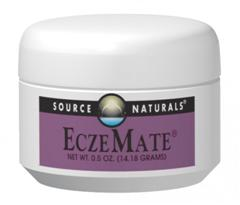 Source Naturals is pleased to bring you EczeMate, an amazing, replenishing formula from Russia. Made with natural ingredients free of pollutants, petrochemicals, or hazardous substances, it soothes, lubricates, and rejuvenates the skin..