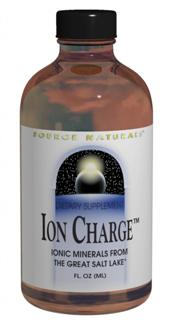 Minerals are the essential cofactors for enzyme activity; they also function as structural support for our bones and teeth, and when ionized, they play a vital role in electrolytic nerve impulse transmission. Source Naturals Ion Charge is a purified liquid concentrate providing a broad spectrum of essential and trace minerals, present in a naturally occuring, physiological ratio. Ion Charge is derived from the Great Salt Lake and has had 99% of the sodium removed..