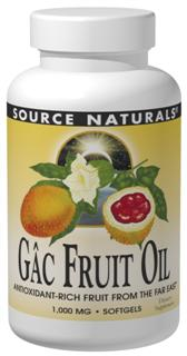 Gac Fruit Oil delivers excellent antioxidant support for healthy cellular function, cardiovascular health, skin protection and your immune system. Known as a rich source of carotenoids including lycopene, alpha and beta carotene..