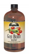 Source Naturals Goji Berry Blend is a specially formulated nutrient-rich drink which combines goji berry concentrate with 7 other natural fruit concentrates.  Goji berries are rich in polyphenols, carotenoids and other antioxidants, and have been used in traditional Chinese herbalism for thousands of years. The polysaccharides in goji berries support blood sugar balance, visual clarity, cholesterol wellness, healthy circulation and normal cellular metabolism..