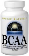 Source Naturals BCAA provides support to your body's muscular systems with a vigorous blend of branched-chain amino acids and supporting B vitamins.  Combined with vitamin B-6 and B-12 for optimized protein synthesis, BCAA may also increase energy and reduce occasional fatigue in support of your active lifestyle..
