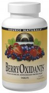 Source Naturals BerryOxidants is a synergistic formula which combines more than 25 plant-derived free radical fighters with a full 500 mg per tablet of the antioxidant vitamin C. BerryOxidants is a power-packed antioxidant complex featuring standardized extracts from fruits, especially berries, as well as herbs and spices. .