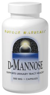 Source Naturals D-Mannose supports the health of the entire urinary tract: the urethra, bladder, ureter, renal pelvis and the renal parenchyma. D-Mannose is a monosaccharide hexose sugar, naturally found in some trees, berries and fruits, such as cranberry. D-Mannose aids the bodys natural cleansing process..