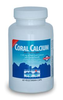 Coral Calcium with ConcenTrace is ecologically safe and one of the best pH balanced coral calciums available. gluten free.