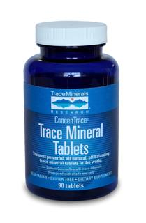 The tablet form of our world renowned liquid trace mineral drops, synergized with alfalfa and kelp.vegetarian, gluten free.