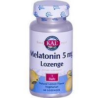 Melatonin Lozenge (5 mg 60 lozenges).
