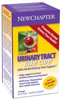 Cranberry is traditionally to promote normal urinary tract health. New Chapter is proud to deliver this revered botanical together with another esteemed herb, Cinnamon, in Urinary Tract Take Care  an herbal therapeutic that helps support & restore healthy urinary tract function..