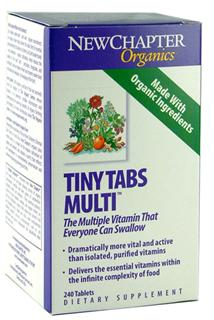 Tiny Tabs Multi delivers 22 different probiotic vitamins and minerals in their most easily digested, energizing and protective form..