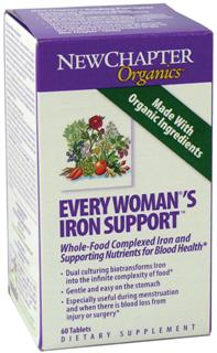 Every Womans Iron Support delivers 7 different blood building probiotic vitamins and minerals as well 9 free-radical scavenging herbs cultured for maximum effectiveness..