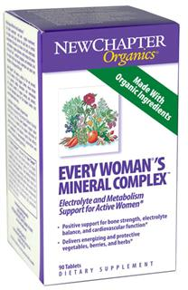 Every Womans Mineral Complex delivers 12 different easily digested and highly active probiotic minerals as well as 9 free-radical scavenging herbs cultured for maximum effectiveness..