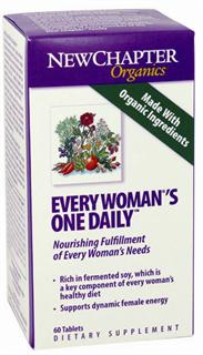 Every Woman's One Daily delivers in one tablet 23 different nutritive and energizing probiotic vitamins and minerals as well as extracts of Chaste tree and maca that have been revered for supporting a woman's emotional balance.