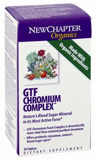 GTF Chromium Complex delivers easily digested and highly active probiotic GTF chromium as well as 9 free-radical scavenging herbs cultured for maximum effectiveness.* Herbs like cinnamon, oregano, and rosemary are revered for countering oxidation and providing key health benefits that support and sustain..