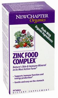 Zinc Food Complex delivers easily digested and highly active probiotic zinc as well as 10 free-radical scavenging and immune-supportive herbs and mushrooms cultured for maximum effectiveness..